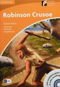 Robinson Crusoe Level 4 Intermediate Book (+ CD-ROM and Audio CD)