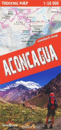 Aconcagua: Trekking Map