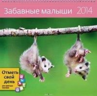 Календарь 2014 (на спирали). Забавные малыши