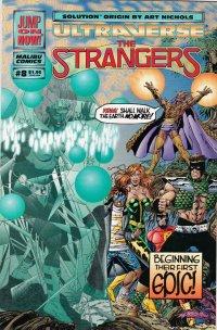 The Strangers Vol.1 №8. США Январь 1994. Оригинальный комикс на английском языке