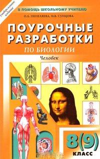 Поурочные разработки по биологии. Человек. 8 (9) класс