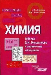 Химия. Таблица Д. И. Менделеева и справочные материалы