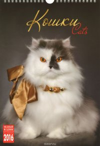 Календарь 2016 (на спирали). Кошки / Cats