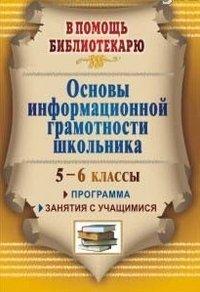 Основы информационной грамотности школьника: программа, занятия с учащимися 5-6 классов