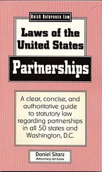 Partnerships: Laws of the United States (Quick Reference Law)