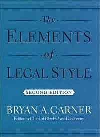 The Elements of Legal Style