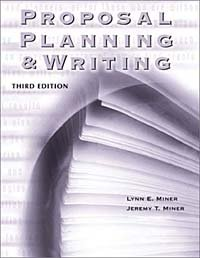 Proposal Planning and Writing : Third Edition (Grantselect)