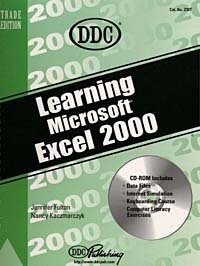 Learning Microsoft Excel 2000