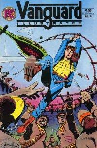 Vanguard Illustrated Vol.1 №4. США Апрель 1984. Оригинальный комикс на английском языке