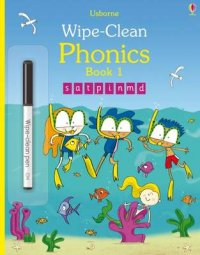 Wipe-Clean Phonics: Book 1