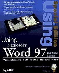 Special Editon Using Microsoft Word 97, Best Seller Edition (2nd Edition)