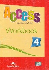 Access 4. Workbook (with digibook app). Рабочая тетрадь (с ссылкой на электронное приложение)