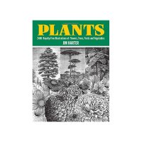 Plants: 2400 Copyright-Free Illustrations of Flowers, Trees, Fruits and Vegetables