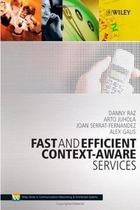 Fast and Efficient Context-Aware Services (Wiley Series on Communications Networking & Distributed Systems)