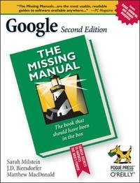 Google: The Missing Manual (Google: The Missing Manual)
