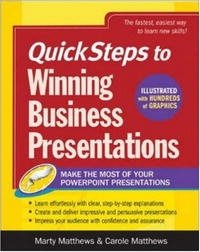 QuickSteps to Winning Business Presentations