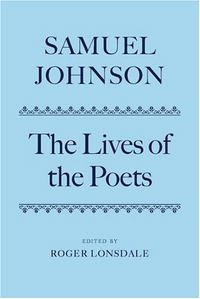 The Lives of the Poets: Boxed Set (Oxford English Texts)