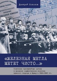 """""""Железная метла метет чисто..."""" Советские чрезвычайные органы в процессе осуществления политики красного террора в Крыму в 1920-1921 гг"""