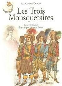Les Trois Mousquetaires illustre par Born