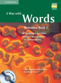 A Way with Words Lower-intermediate to Intermediate Book (+ Audio CD)