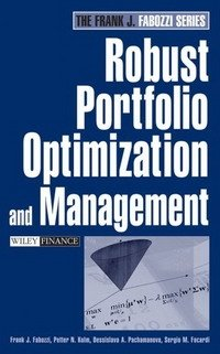 Robust Portfolio Optimization and Management (Frank J. Fabozzi)