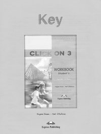 Click On 3: Student's Workbook: Key