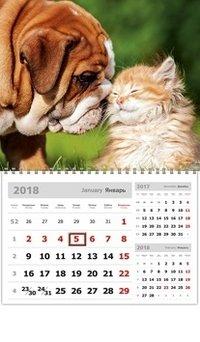 Календарь 2018 (на спирали). Забавные малыши
